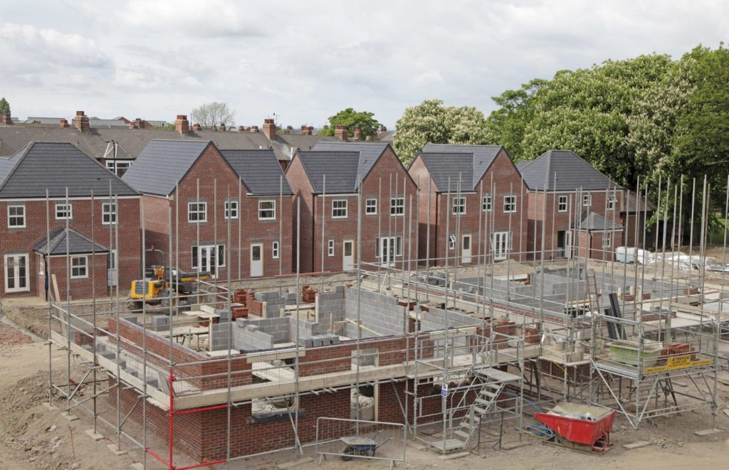 New Builds With Evolve Bricklaying